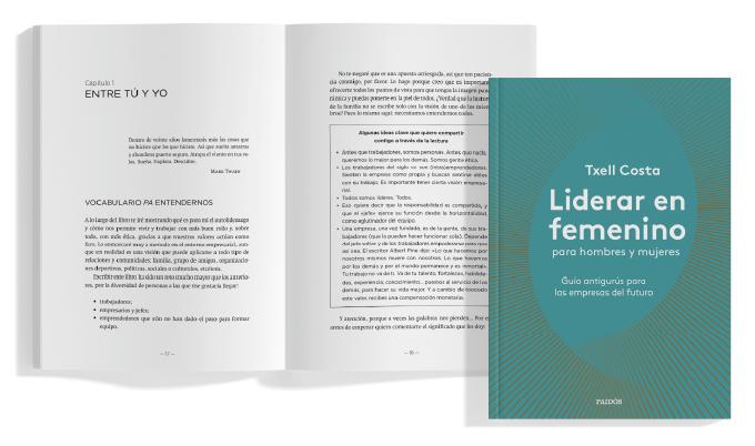 Libro Txell Costa Liderar en femenino para hombres y mujeres