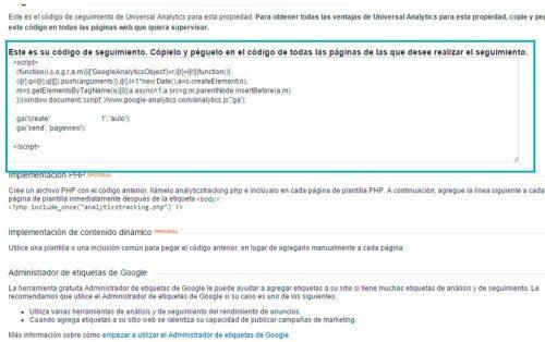 Tutorial Google Analytics2